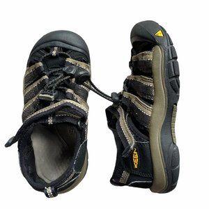 KEEN Newport H2 Sandal Kids 13 Black Gray Waterpro